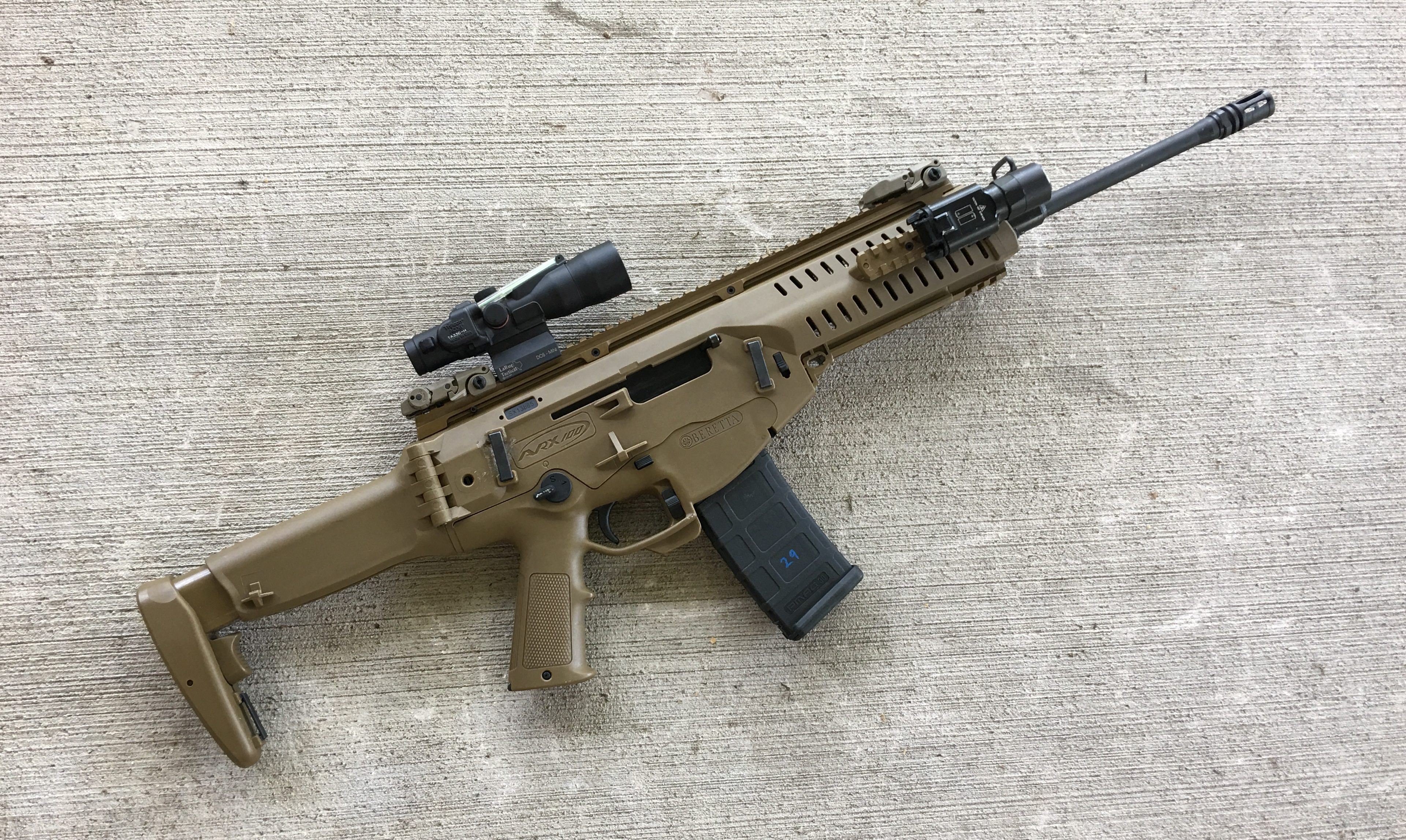 Sink or Swim: A Review of the Beretta ARX-100 - The Kommando