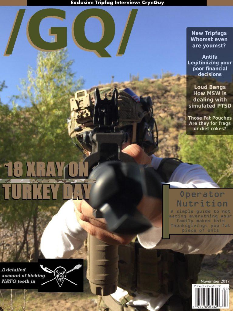 /GQ/ Magazine – 18 X-Ray on Turkey Day